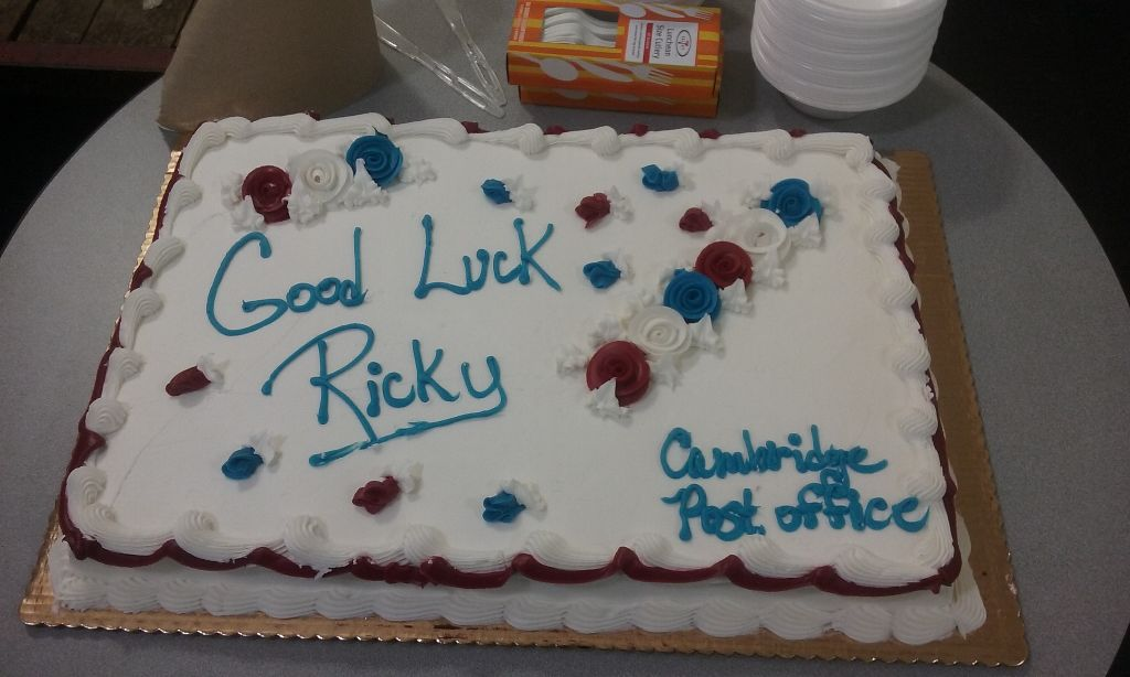 Ricky Tam from Cambridge's Central Square office retired on October 14th.