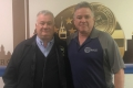 President Jerry McCarthy wishes Medford's Chris Lyons a Happy Retirement!